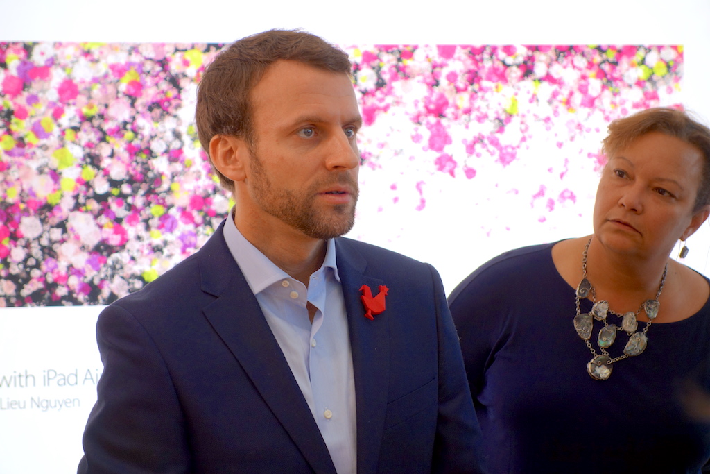 Visite d e macron et de s royal dans la silicon valley for Chambre de commerce francaise aux usa